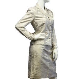 Talbots Mother Of The Bride 3 pc Suit Size 8